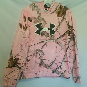 Under Armour RealTree Hooded Jacket Size M